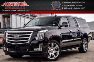 2017 Cadillac Escalade ESV Luxury 4x4|Rr DVD's|HeadsUp|Keyless_G