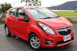 2014 Holden Barina Spark MJ MY15 CD Red 4 Speed Automatic Hatchback Derwent Park Glenorchy Area Preview