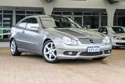 2007 Mercedes-Benz C180 Kompressor CL203 MY07 Sports Silver 5 Speed Automatic Coupe Willagee Melville Area Preview