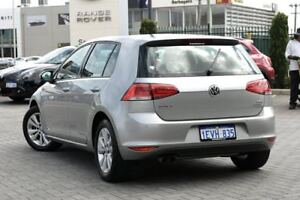 2014 Volkswagen Golf VII MY14 90TSI DSG Comfortline Silver 7 Speed Sports Automatic Dual Clutch