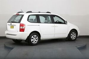 2007 Kia Carnival VQ EX White 4 Speed Automatic Wagon Smithfield Parramatta Area Preview