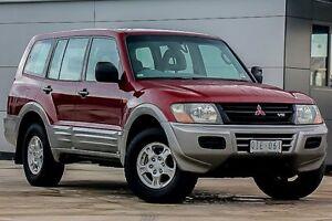 2000 Mitsubishi Pajero NM GLS Red 5 Speed Sports Automatic Wagon Pakenham Cardinia Area Preview