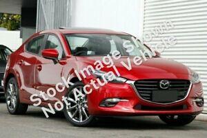 2019 Mazda 3 BN5238 SP25 SKYACTIV-Drive Astina Red 6 Speed Sports Automatic Sedan Launceston Launceston Area Preview