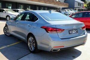 2015 Hyundai Genesis DH Silver 8 Speed Sports Automatic Sedan