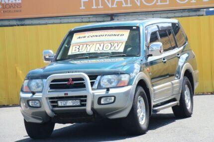 2002 Mitsubishi Pajero NP Exceed Galaxy Green 5 Speed Sports Automatic Wagon Cheltenham Kingston Area Preview