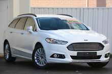 2015 Ford Mondeo MD Trend PwrShift Frozen White 6 Speed Sports Automatic Dual Clutch Wagon Woodbridge Swan Area Preview