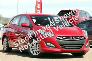 2014 Hyundai i30 GD2 Active Brilliant Red 6 Speed Sports Automatic Hatchback Telarah Maitland Area Preview