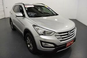 2014 Hyundai Santa Fe DM Active (4x4) Silver 6 Speed Automatic Wagon Moorabbin Kingston Area Preview