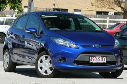 2012 Ford Fiesta WT CL PwrShift Blue 6 Speed Sports Automatic Dual Clutch Hatchback Kedron Brisbane North East Preview