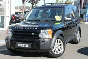2008 Land Rover Discovery 3 Series 3 08MY SE Black 6 Speed Sports Automatic Wagon Brookvale Manly Area Preview