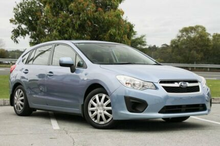 2012 Subaru Impreza G4 MY12 2.0i Lineartronic AWD Blue 6 Speed Constant Variable Hatchback Springwood Logan Area Preview