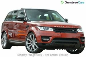 2015 Land Rover Range Rover Sport L494 15.5MY V8SC CommandShift HSE Dynamic White 8 Speed Nedlands Nedlands Area Preview