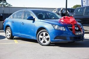 2010 Holden Cruze JG CD Blue 6 Speed Sports Automatic Sedan Thornleigh Hornsby Area Preview