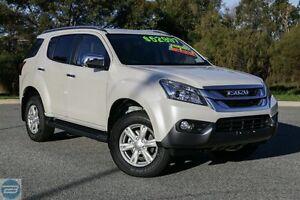 2016 Isuzu MU-X MY15.5 LS-T Rev-Tronic Silky White 5 Speed Sports Automatic Wagon Hillman Rockingham Area Preview