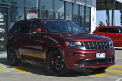2016 Jeep Grand Cherokee WK MY16 SRT Night Edition Red 8 Speed Sports Automatic Wagon