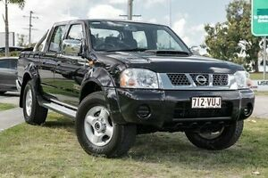 2010 Nissan Navara D22 MY2009 ST-R Black 5 Speed Manual Utility Springwood Logan Area Preview