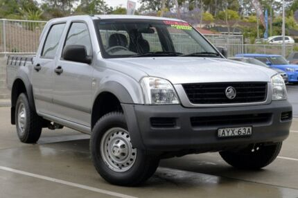 2006 Holden Rodeo RA MY06 Upgrade LX Silver 5 Speed Manual Crew Cab Pickup