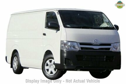 2012 Toyota Hiace KDH201R MY11 LWB White 4 Speed Automatic Van Upper Ferntree Gully Knox Area Preview