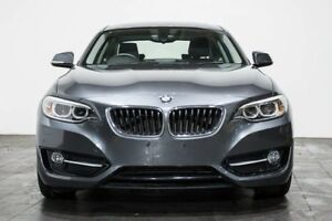 2014 BMW 220D F22 Sport Line Grey 8 Speed Sports Automatic Coupe