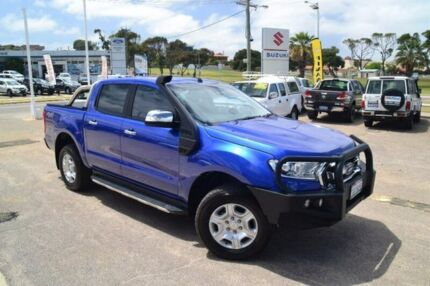 2016 Ford Ranger PX MkII XLT Super Cab Blue 6 Speed Sports Automatic Utility