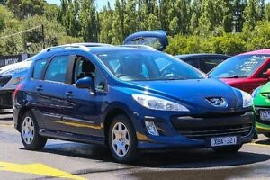 2009 Peugeot 308 T7 XS HDI Blue 6 Speed Manual Hatchback Ringwood East Maroondah Area Preview