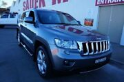 2011 Jeep Grand Cherokee WK MY2011 Limited Grey 5 Speed Sports Automatic Wagon Milperra Bankstown Area Preview