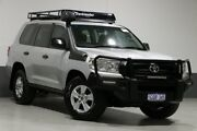 2016 Toyota Landcruiser VDJ200R MY16 GX (4x4) Silver 6 Speed Automatic Wagon Bentley Canning Area Preview