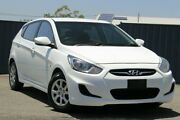 2013 Hyundai Accent RB Active White 4 Speed Sports Automatic Hatchback Slacks Creek Logan Area Preview
