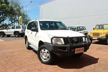 2006 Toyota Landcruiser Prado KZJ120R GX Powder White 5 Speed Manual Wagon The Gardens Darwin City Preview