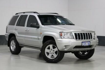 2003 Jeep Grand Cherokee WG Overland (4x4) Silver 5 Speed Automatic Wagon