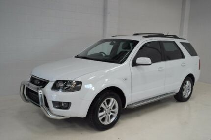 2011 Ford Territory SY Mkii TS AWD Limited Edition White 6 Speed Sports Automatic Wagon