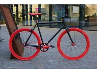 Brand new single speed fixed gear fixie bike/ road bike/ bicycles + 1year warranty & free service f1