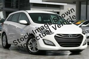 2014 Hyundai i30 GD Active Tourer White 6 Speed Sports Automatic Wagon North Hobart Hobart City Preview