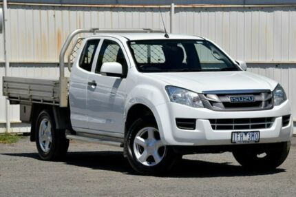 2015 Isuzu D-MAX MY15 SX Space Cab White 5 Speed Manual Cab Chassis Ferntree Gully Knox Area Preview