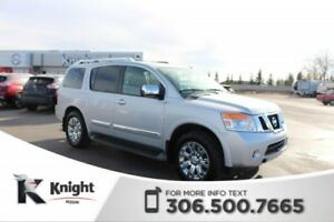 2015 Nissan Armada Platinum! DVD Package! Navigation! Heated Sea