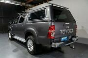 2015 Toyota Hilux KUN26R MY14 SR5 (4x4) Grey 5 Speed Manual Dual Cab Pick-up Woodridge Logan Area Preview