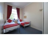 //EXCELLENT TWIN ROOM, NEAR TUBE//