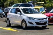 2012 Hyundai i20 PB MY13 Active White 4 Speed Automatic Hatchback Ringwood East Maroondah Area Preview
