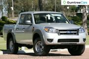 2009 Ford Ranger PK XL Crew Cab Silver 5 Speed Manual Utility Clarkson Wanneroo Area Preview