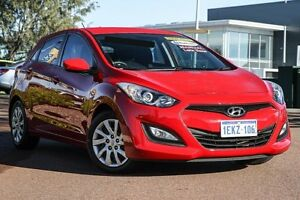 2013 Hyundai i30 GD Active Red 6 Speed Manual Hatchback East Rockingham Rockingham Area Preview