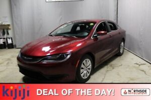 2015 Chrysler 200 LX A/C,