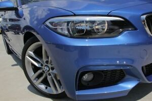 2014 BMW 220i F22 M Sport Blue 8 Speed Sports Automatic Coupe