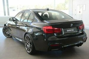 2016 BMW M3 F80 LCI Competition M-DCT Black 7 Speed Sports Automatic Dual Clutch Sedan Wangara Wanneroo Area Preview