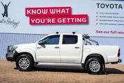 2014 Toyota Hilux GGN25R MY14 SR5 Double Cab White 5 Speed Automatic Utility Morley Bayswater Area Preview