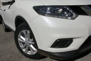 2015 Nissan X-Trail T32 ST (FWD) White Continuous Variable Wagon