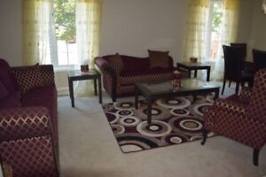 Brand New 6 piece sofa set and coffee tables