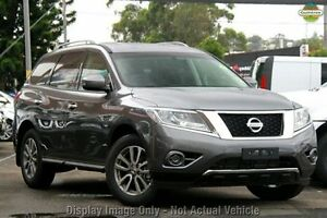 2016 Nissan Pathfinder R52 MY15 UPGRAD ST (4x2) Gun Metallic Continuous Variable Wagon Baulkham Hills The Hills District Preview