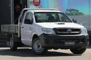 2011 Toyota Hilux KUN16R MY11 Upgrade SR White 5 Speed Manual Cab Chassis Old Guildford Fairfield Area Preview
