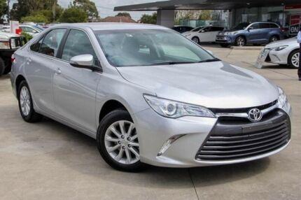 2016 Toyota Camry Silver Sports Automatic Sedan
