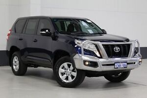 2014 Toyota Landcruiser Prado KDJ150R MY14 GX (4x4) Blue 5 Speed Sequential Auto Wagon Bentley Canning Area Preview